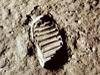 Lunar footprint.