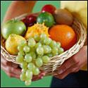 photo of fruit basket
