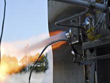 J2X workhorse gas generator test
