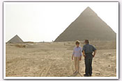 Link to Mrs. Bush's Visit to Egypt