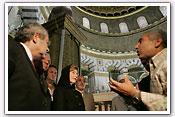 Link to Mrs. Bush's Visit to Jerusalem, Israel and the West Bank