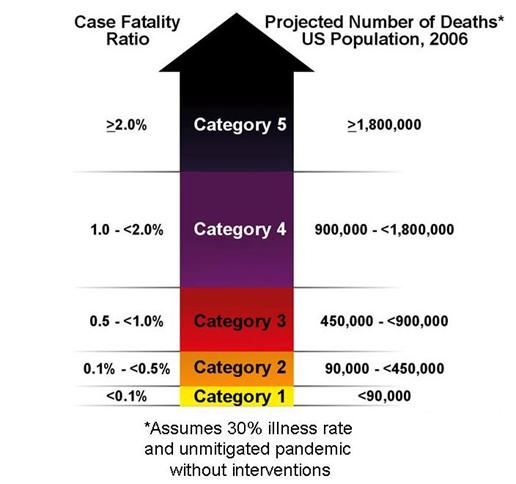 Figure 4. Pandemic Severity Index