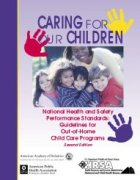 Cover Image of Caring for Our Children Publication