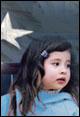 Hispanic child.