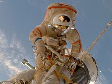 Astronaut at work