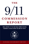 Cover of the Final Report of the 9-11 Commission.