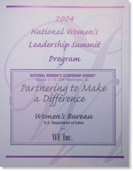 Cover of the Summit Program booklet.
