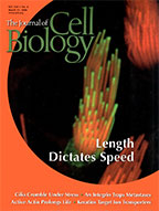 Journal of Cell Biology cover image