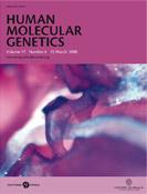 Human Mol Genetics Cover