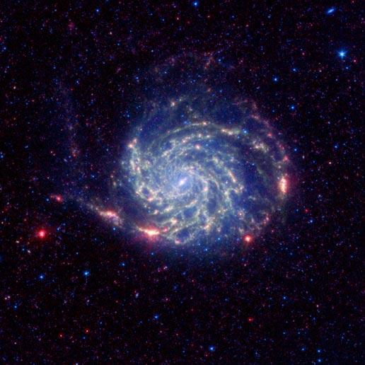 Messier 101 galaxy