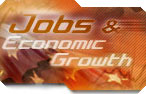 Link to Jobs and Economy Growth Front Page