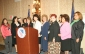 Secretary Chao with LULAC executives at their National Women's Conference in New York City.