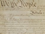 Image of 'We the people...' from the U.S. Constitution