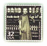 Child Labor Reform Stamp