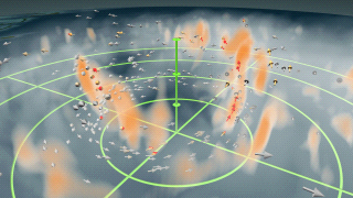 Visualization of hurricane winds and updrafts