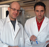 Photo of Michael Otto, Ph.D. and Frank R. DeLeo, Ph.D.