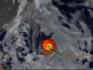 Still from animation of the Atlas model