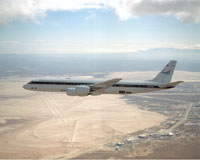 This is a photo of NASA's DC-8 aircraft which will be used during INTEX