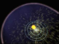 Animation of heliosphere expanding from solar blast