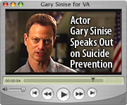 Video: Actor Gary Sinise Speaks Out on Suicide Prevention