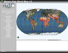 Malaria Risk Map