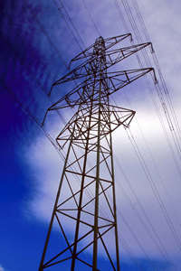 Electricity tower.