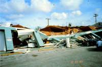 Destroyed Pachinko Building