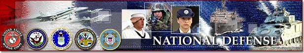 Banner - National Defense