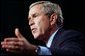 President George W. Bush discusses his economic plan in Milwaukee Friday, Oct. 3, 2003.  White House photo by Tina Hager