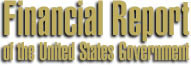 Financial Report of the United States Logo