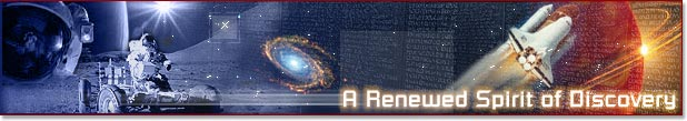 Banner: A Renewed Spirit of Discovery