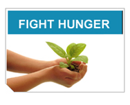 Secretary Schafer introduces the Fight Hunger Initiative