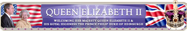 Welcoming Her Majesty Queen Elizabeth II and His Royal Highness The Prince Philip Duke of Edinburgh