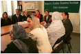 Laura Bush and Education Secretary Margaret Spellings visit the Women's Teacher's Training Institute in Kabul, Afghanistan, Wednesday March 30, 2005.