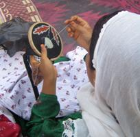 This Alternative Livelihoods program provides employment and training to 200 women in Nangarhar province. USAID Photo