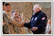 Link to Vice President's Visit to Iraq Photo Essay