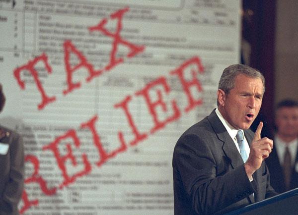 President Bush speaks to the U.S. Chamber of Commerce