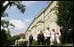Mrs. Laura Bush and Mrs. Livia Klausova, First Lady of Czech Republic, tour the gardens of Prague Castle Tuesday, June 5, 2007, at Prague Castle in Prague, Czech Republic. White House photo by Shealah Craighead