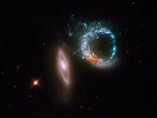 Hubble image of Arp 147
