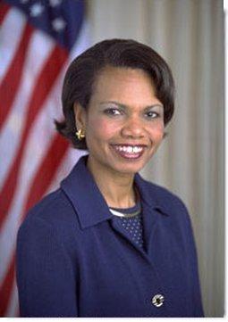 National Security Adviser Dr. Condoleezza Rice