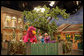 Mrs. Laura Bush meets characters on the set at Gali Gali Sim Sim (India's version of America's Sesame Street) studio, Thursday, March 2, 2006 in New Delhi, India, where she toured and taped a segment for the show. White House photo by Shealah Craighead