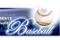 Presidents and Baseball Banner