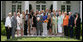 President George W. Bush stands with members of the University of Tennessee Lady Vols basketball team, Tuesday, June 24, 2008, during a photo opportunity with the 2007 and 2008 NCAA Sports Champions. White House photo by Eric Draper