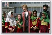 Link to Mrs. Bush Visits Afghanistan