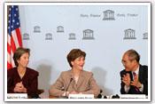 Link to Mrs. Bush's Visit to Paris 2007
