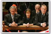 Link to Mrs. Bush Honors Pope John Paul II