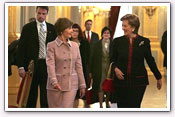 Link to Mrs. Bush's Visit to Europe February 2005