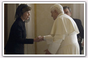 Link to Mrs. Bush's Visit to Italy 2006