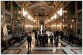 Vice President Dick Cheney and Lynne Cheney tour Rome's Palazzo Colonna Jan. 25, 2004. The palace, built in the early 15th century by Pope Martin Colonna, contains masterpieces by Italian artists created between the 15th and 18th centuries.