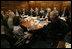 El Presidente George W. Bush se reune con el National Security Council el miércoles, 5 de julio de 2006, en la Casa Blanca para discutir el segundo informe de la Comisión para la Ayuda a una Cuba Libre. Foto por Eric Draper de la Casa Blanca.